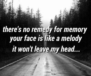 black, Lyrics, and road image