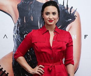 demi lovato and fashion image