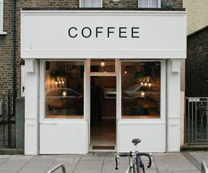 coffee, coffee shop, and place image