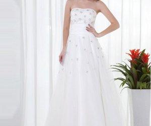 dress, graduation, and white image