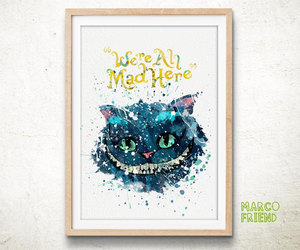 alice in wonderland, disney, and gifts image