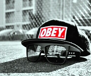 obey, swag, and glasses image