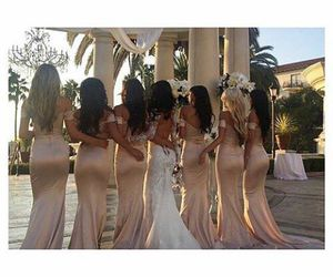 girl, bride, and luxury image