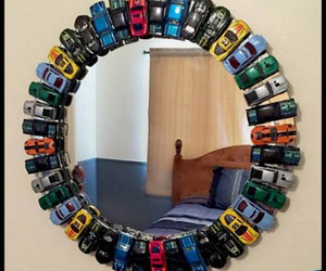 cars, hot wheels, and mirror image