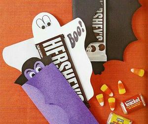 Halloween, candy, and chocolate image