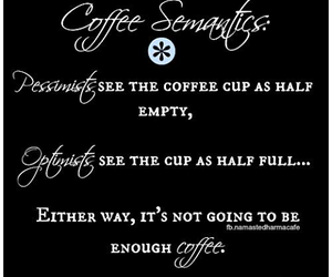 coffee, lol, and facts image