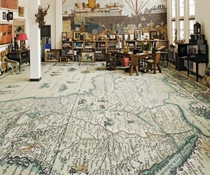 map, room, and floor image