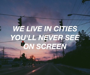 city, quotes, and ️lorde image