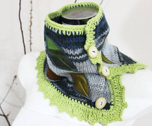 accessories, etsy, and scarves image