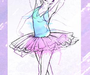 azul, baile, and ballet image