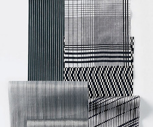 black and white, materials, and pattern image