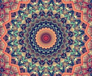 mandala, wallpaper, and colors image