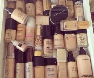 mac, Foundation, and make up image