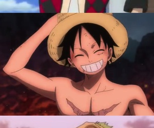 one piece, onepiece, and luffy image