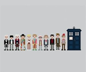 doctor who, tardis, and wallpaper image