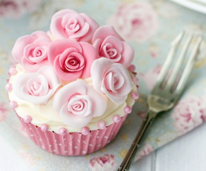 flowers, food, and roses image