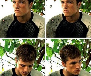 hutch, hunger games, and josh hutcherson image