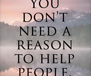 quote, help, and people image