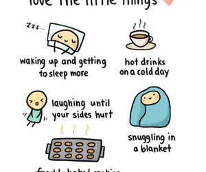 blanket, cold day, and hot drinks image