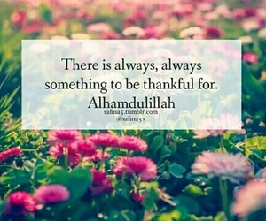 thankful, allah, and islam image