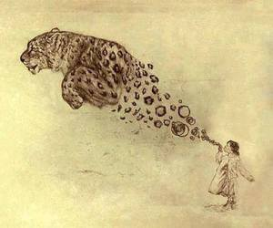 art and leopard image