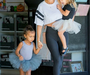 ballet, north west, and penelope disick image