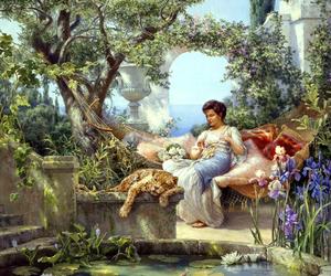 arte, belleza, and pintura image
