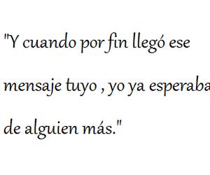 dolor, frases en español, and mensaje image