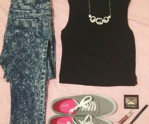 fashion, look of the day, and outfit of the day image
