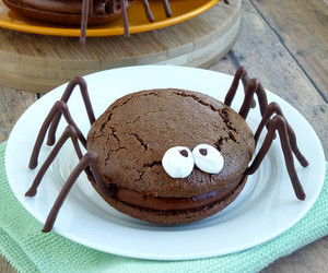 spider, food, and yummy image
