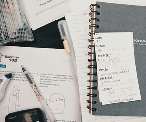 study, notes, and studyblr image