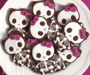 chocolate, day of the dead, and dessert image