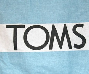 toms, blue, and white image