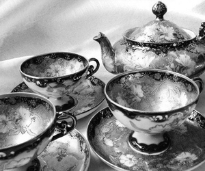 teacup, tea, and vintage image
