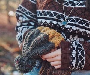 autumn, fashion, and cozy image