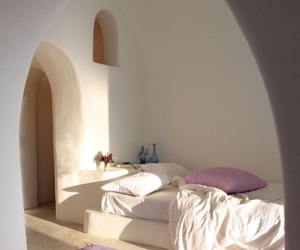 bedroom, bedtime, and sunshine image