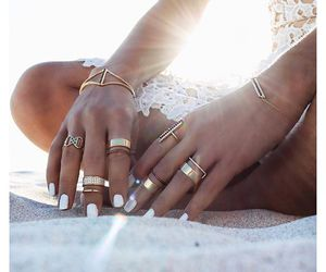 accessories, beautiful, and hands image