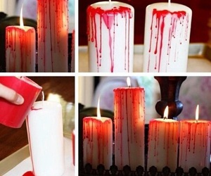 Halloween, diy, and candle image