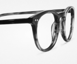 glasses and black and white image