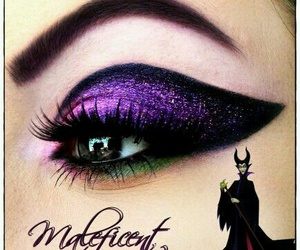 maleficent, makeup, and lipstick image