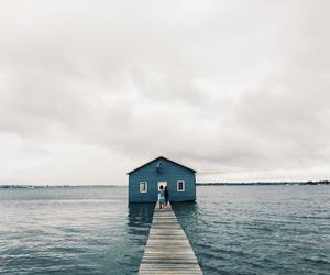 house, nature, and sea image