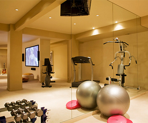 gym, fitness, and house image