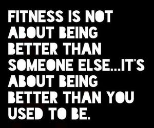 fitness, quote, and motivation image