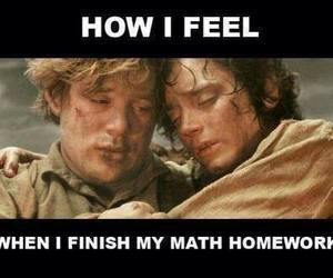 math, funny, and homework image