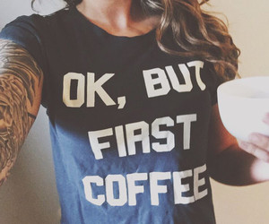 coffee and t-shirt image