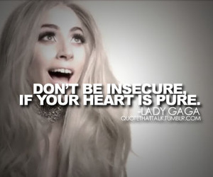 Lady gaga, quotes, and heart image