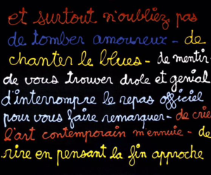colors, french, and life image