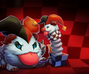 shaco, poro, and league of legends image