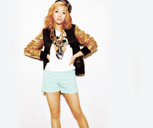 luna, f(x), and park sungyoung image