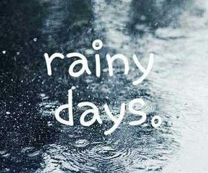 rain, autumn, and rainy image